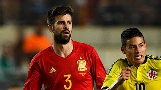Video Gol Pertandingan Spanyol vs Kolombia