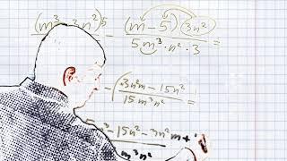 Школьнику Сложение и вычитание алгебраических дробей с разными знаменателями #6