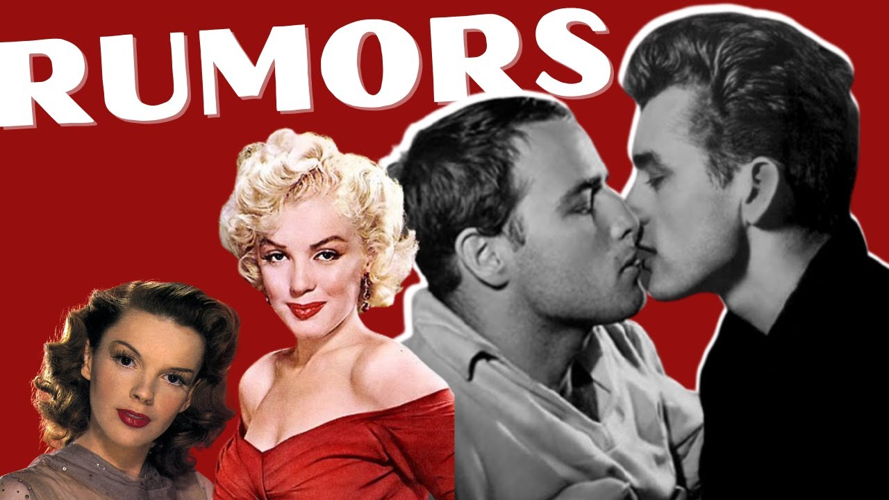 Download Challenging 3 Old Hollywood Rumors-Marilyn Monroe, James Dean, Marlon Brando, & Judy Garland 4kHD