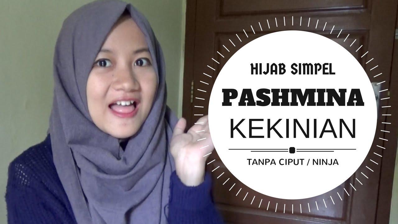 Tutorial Hijab Pahmina Tanpa Ninja Simpel Terbaru Kekinian Sehari Hari Nmy Hijab Tutorials Youtube