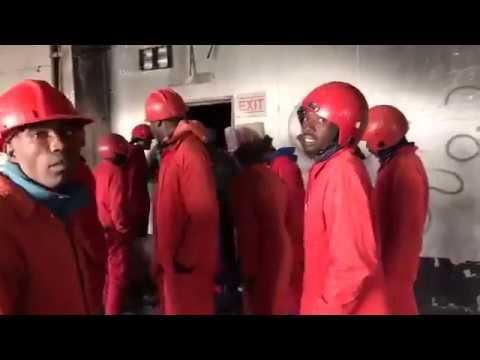 FB Live Stream from Fattis Mansions Evictions in Johannesburg.