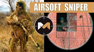 СНАЙПЕР В ГИЛЛИ. СТРАЙКБОЛ // Airsoft Sniper Gameplay. Ghillie suit(, 2015-12-28T14:17:07.000Z)