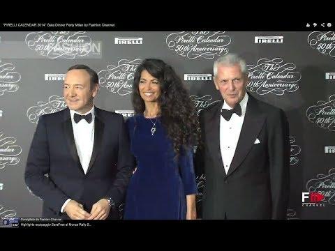 """""""PIRELLI CALENDAR 2014"""" Gala Dinner Party Milan by Fashion Channel"""