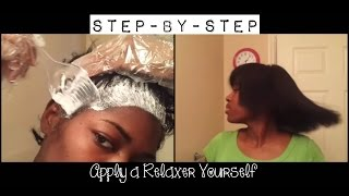 The Complete Process of Applying my Relaxer