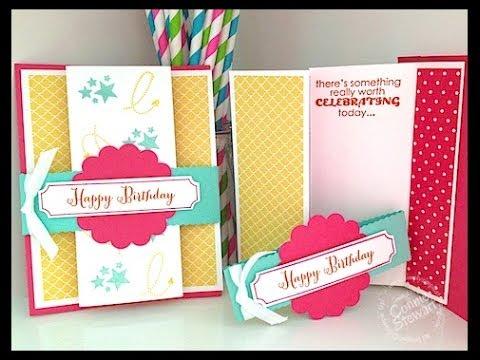 Simply simple fancy fold birthday card by connie stewart youtube simply simple fancy fold birthday card by connie stewart bookmarktalkfo Gallery