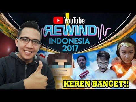 YOUTUBE REWIND INDONESIA 2017 (SEMARANG) - KEREN BANGET !! REACTION TIME