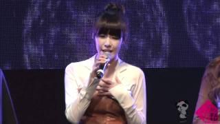 [fancam] 111117 Coway concert SNSD 'Dear mom'   @ Tiffany