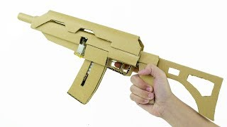 How to Make Automatic Assault Rifle That Sh00ts from Cardboard