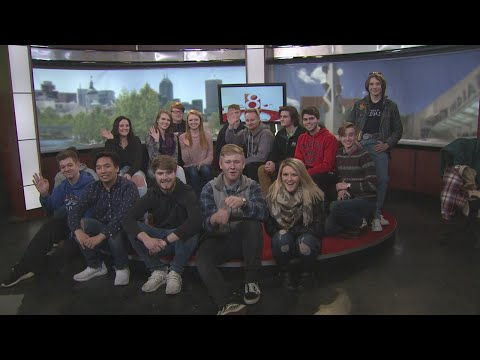 Pendleton Heights High School Intro to Broadcasting class on Midday