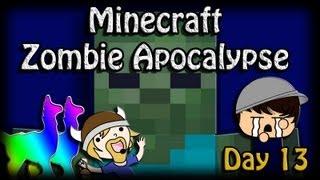 Minecraft Zombie Apocalypse, Day 13