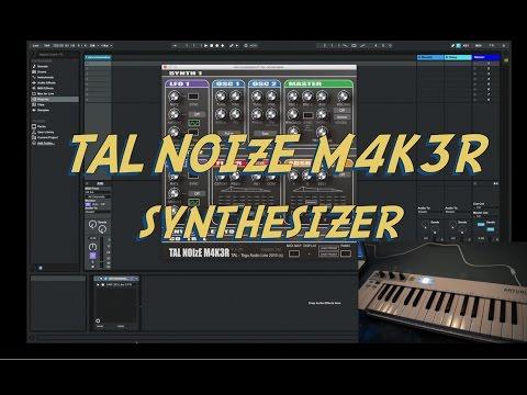 TAL (Togu Audio Line) NoiseMaker v.4 - FREE Synthesizer Plugin (VST/AU)
