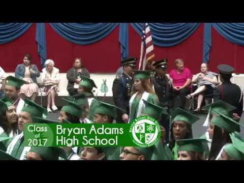 Bryan Adams High School Graduation 2017