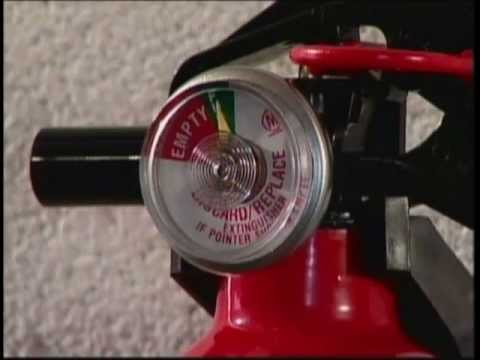 How To Use A Fire Extinguisher Training Video