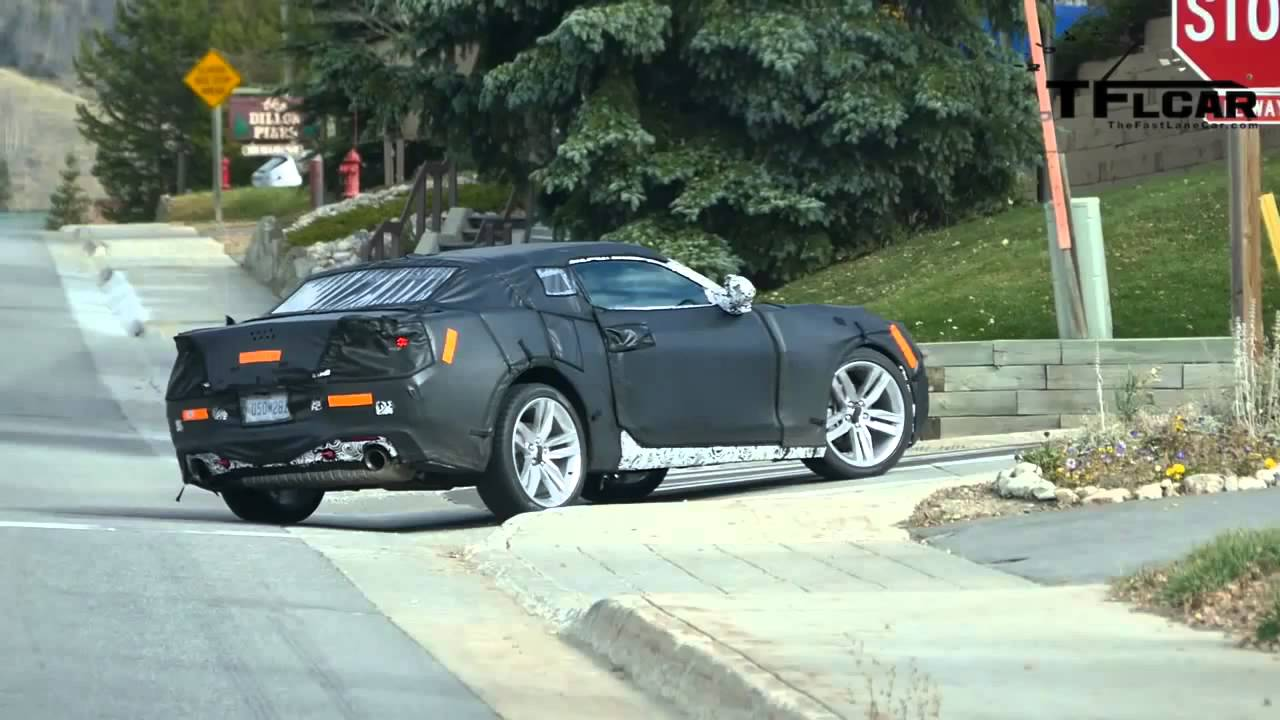 Is This The 2016 Chevy Camaro Turbo Prototype Spied In The