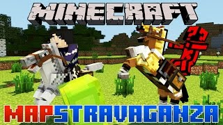 Minecraft Mapstravaganza! Nuclear Battery, Counting Sheep and Glass...things