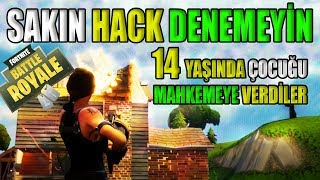 DON'T TRY TO HACK CALM FROM US (Fortnite Battle Royale Hack and Cheat Penalty)