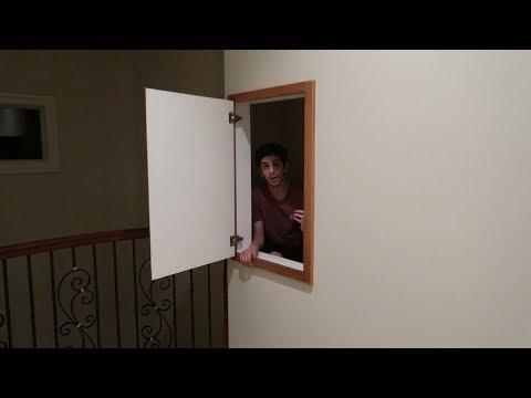 WE FOUND 2 SECRET ROOMS.. (wtf)