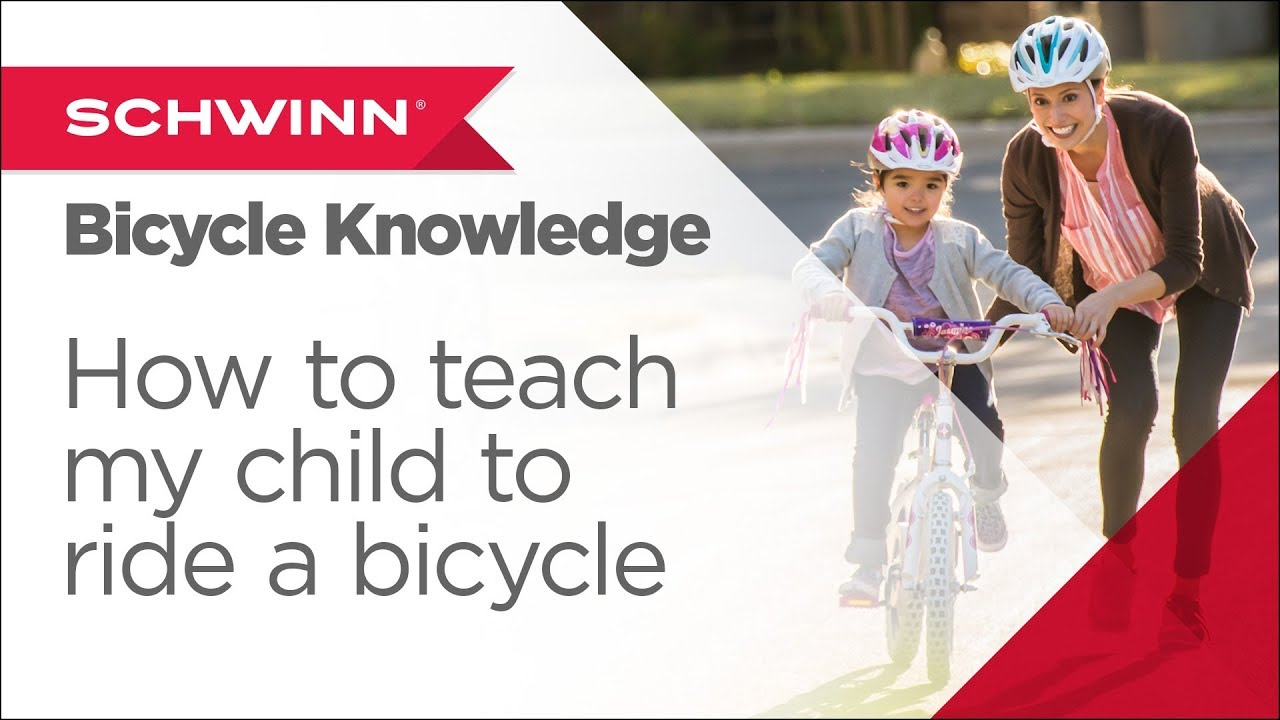 55999b8ff3e How to Teach My Child to Ride a Bicycle - Schwinn SmartStart Bike ...