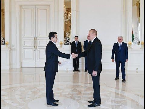 Президент Ильхам Алиев принял новоназначенного посла Колумбии в Азербайджане