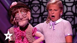 Video DARCI LYNNE'S NAUGHTY PUPPET Edna Has the HOTS for Simon Cowell On America's Got Talent 2017 download MP3, 3GP, MP4, WEBM, AVI, FLV Mei 2018