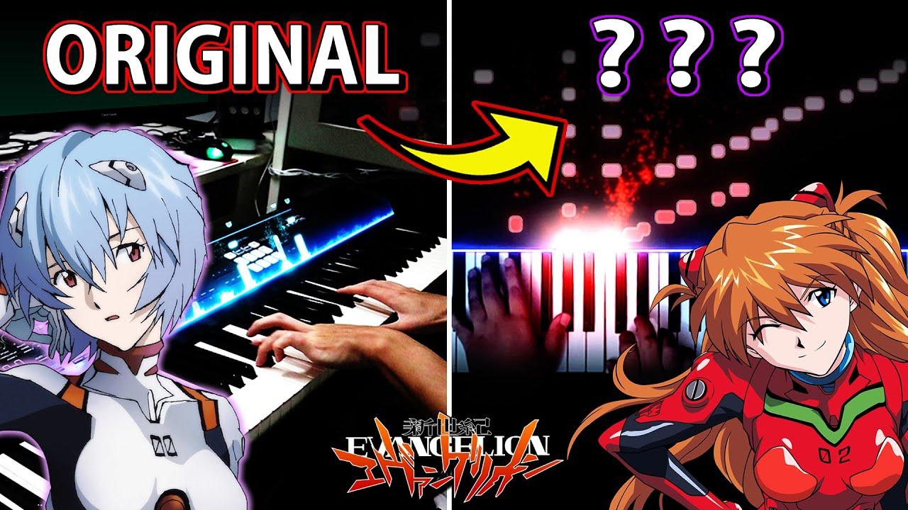 A Cruel Angel's Thesis - Neon Genesis Evangelion OP on piano but...