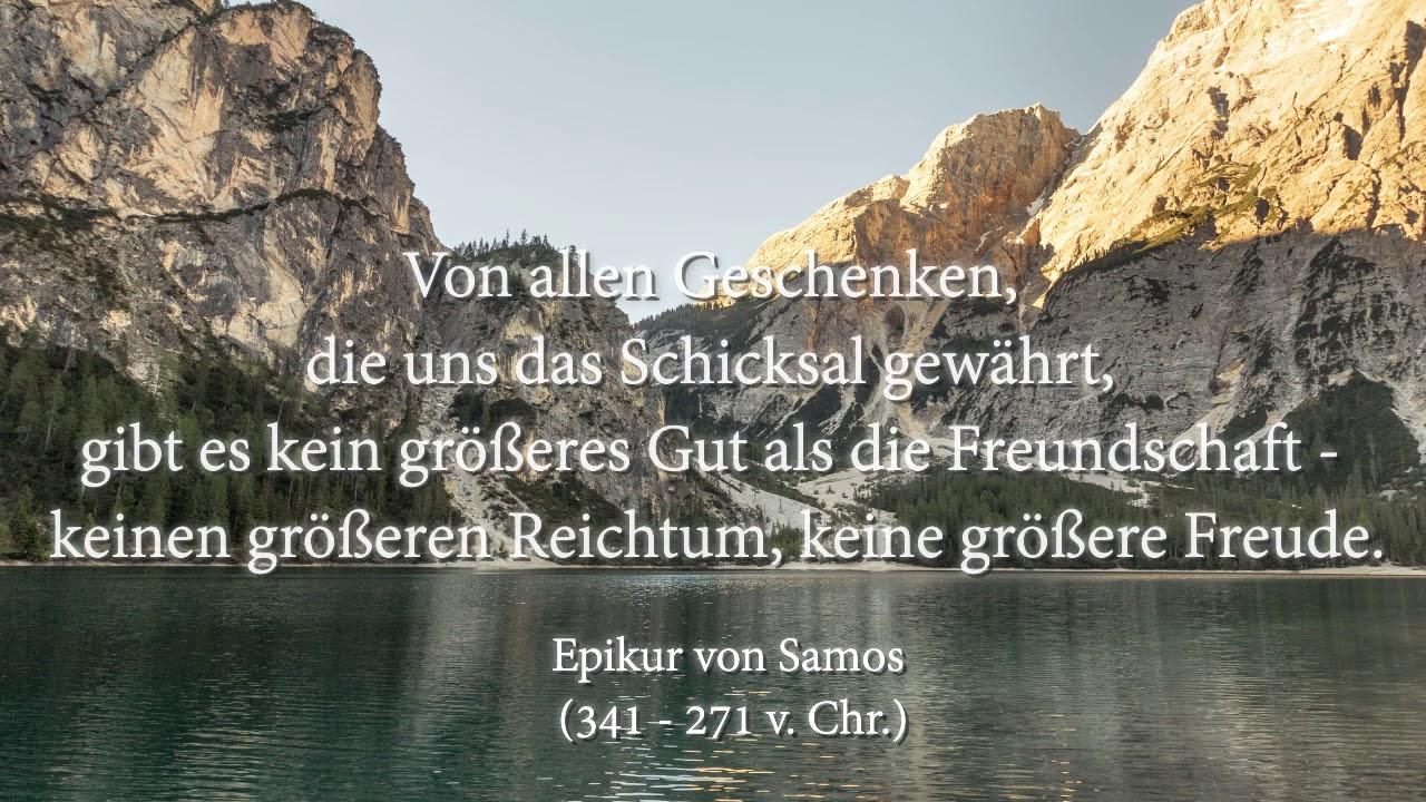 Epikur Von Samos Zitate