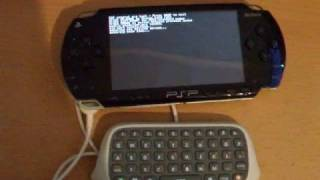Xbox 360 Chat Pad as PSP Keyboard