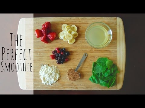 DIY The Perfect Smoothie