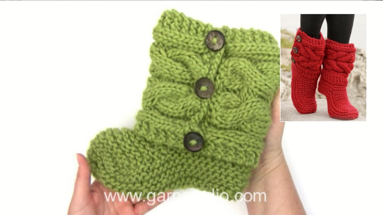 c28b306d1cf How to knit and assembly the slippers in DROPS 150-4