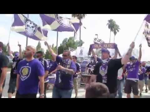 Orlando City Chant/Fan Parade into Stadium