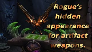 WoW | Rogue's hidden artifact appearance
