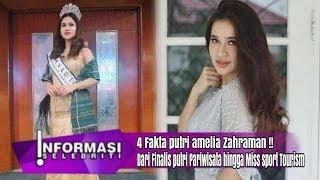 4 Fakta Sosok Putri Amelia, dari Finalis Putri Pariwisata hingga Miss Sport Tourism!!