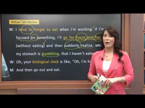 Actual English - Lesson 12 - Eating Habits