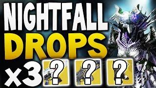 Destiny - Nightfall Drops x3 (Week 19)