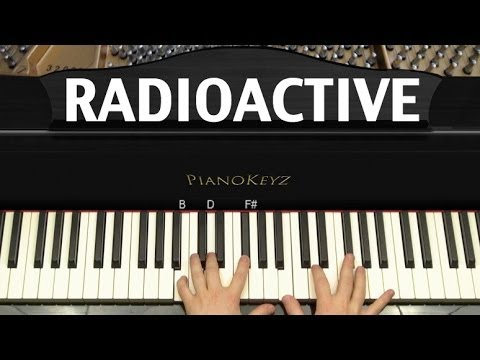 How to Play Radioactive by Imagine Dragons on Piano [EASY]