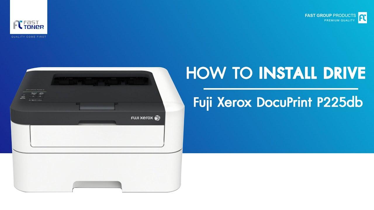 ว ธ ต ดต ง Driver Fuji Xerox Docuprint 255db แบบ Download Youtube