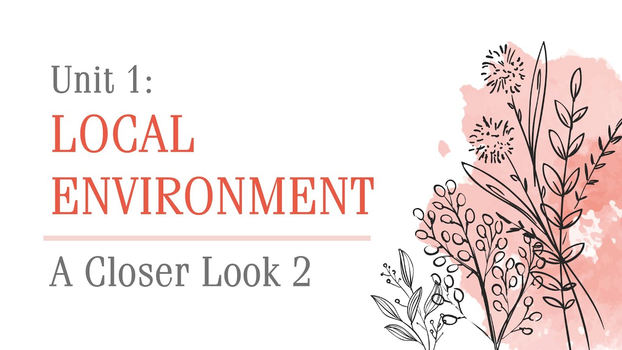 Unit 1: Local environment – A closer look 2 – English 9 [OLM.VN]