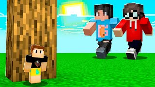 Minecraft HIDE AND SEEK.. But EVERYBODY Is SMALL!