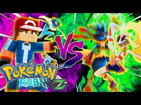 Minecraft: GINASIO LUTADOR DA KORRINA !?! - Pokemon Ruby (Pokémon XYZ) #204 ‹ Goten ›