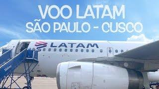 Voo LATAM Guarulhos - Cusco