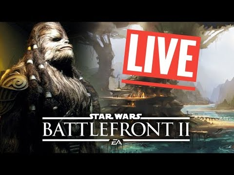 Star Wars Battlefront 2 Galactic Assault [PS4] Live gameplay