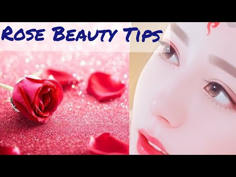 Rose Beauty Tips For White And Pink Glow Skin Rose Glow Serum Rose Glow Face Pack