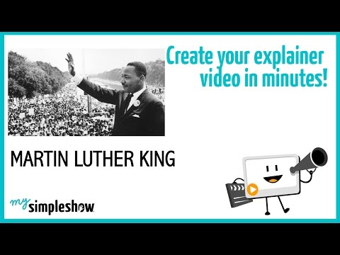 Martin Luther King Jr. Day - mysimpleshow