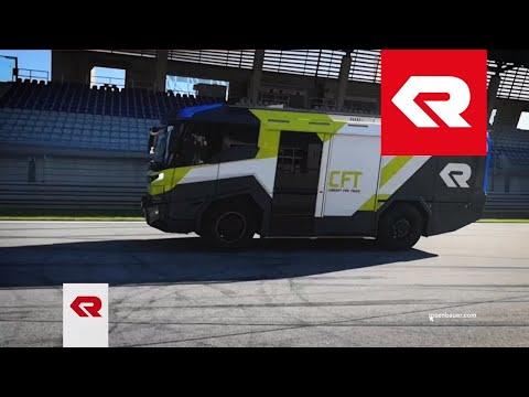 Concept Fire Truck (CFT) Test drive - Rosenbauer
