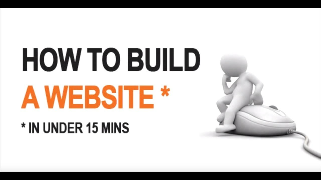 How to make a website in under 13 mins step by step Build easy website