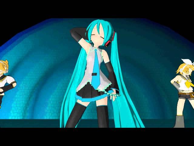 ?MikuMikuDance?- Shake it feat. Miku, Rin & Len