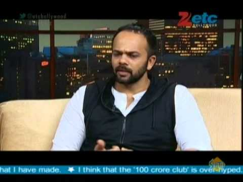 Rohit Shetty With Komal Nahta
