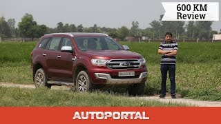 Ford Endeavour 600Km Test Drive Review - Autoportal