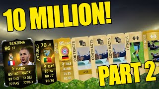 OMG IF BENZEMA! Fifa 15 - 10 Million Coin Pack Opening Highlights - Part 2 Thumbnail