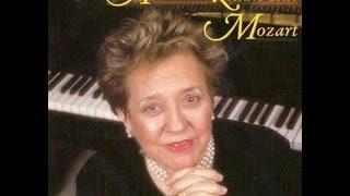 Alicia de Larrocha plays Mozart - Sonata, K.570